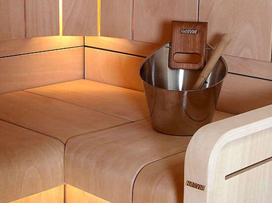 Hochwertige Sauna