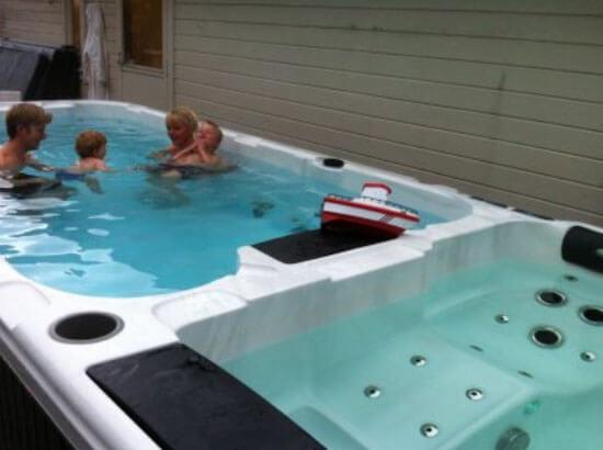Swim Spa Becken