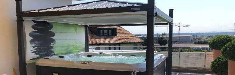 Whirlpool auf der Dachterrasse: Ist die Statik sicher?