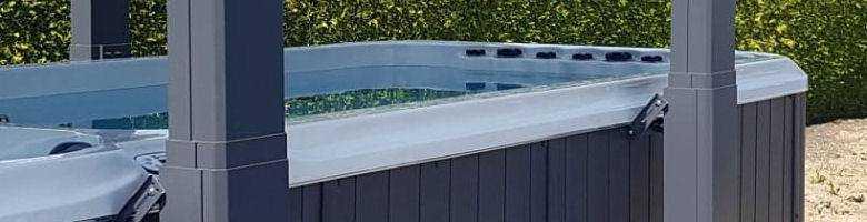 Sandfilteranlage mit Ozonator: Swim Spa