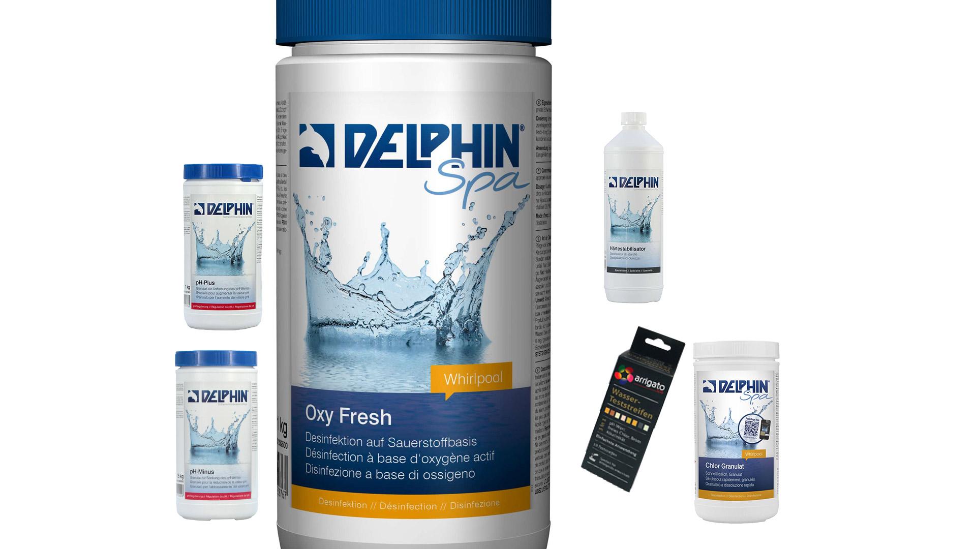 Wasserpflege Aktivsauerstoff Set Eigenmarke