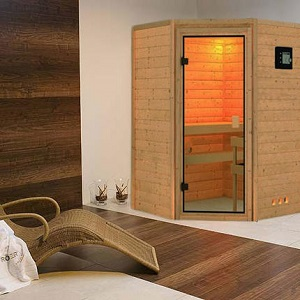 sauna kaufen massivholz rechteckig. Black Bedroom Furniture Sets. Home Design Ideas