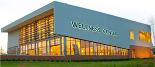 Wellness Center beleuchtet
